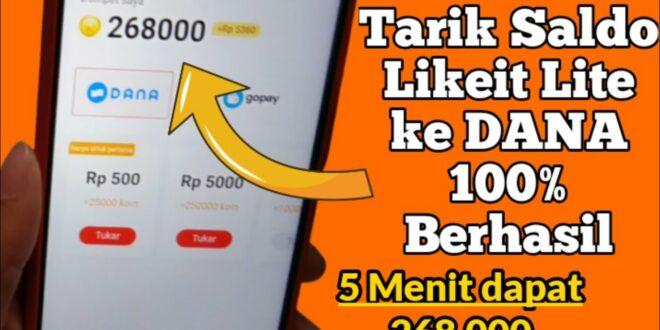 LikeIt Lite APK App Penghasil Uang Dana 2021