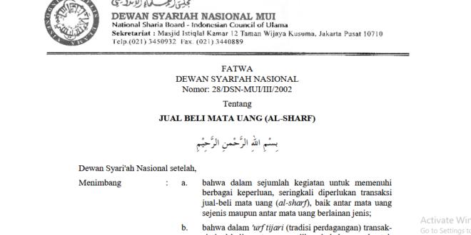 Hukum Forex Dalam Islam Menurut Fatwa MUI Lengkap