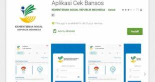 Aplikasi Cek Bansos 2021